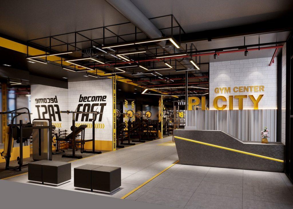 phòng gym picity high park quận 12