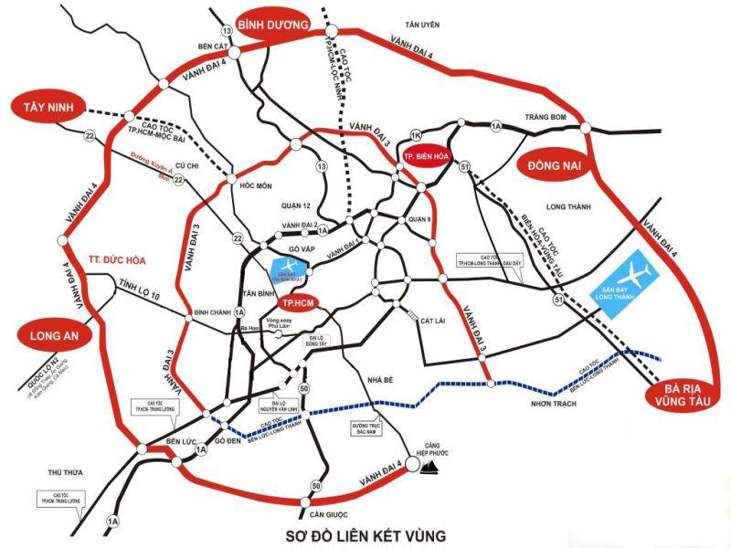 quy hoạch đường vành đai 4