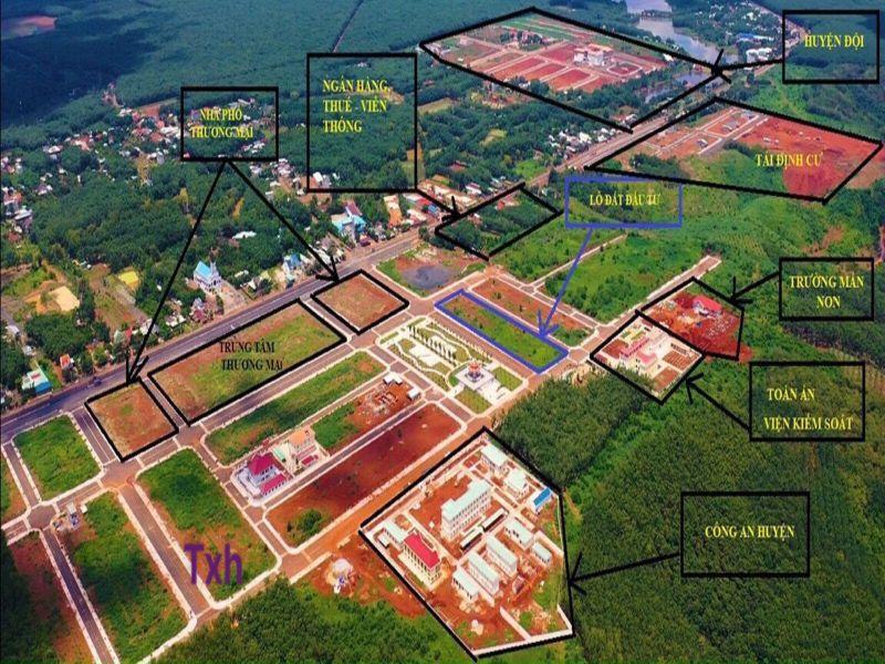 Đất Nền Trung Tâm Hành Chính Mới Phú Riềng – Sổ Hồng Riêng – Hỗ Trợ Vay 50%
