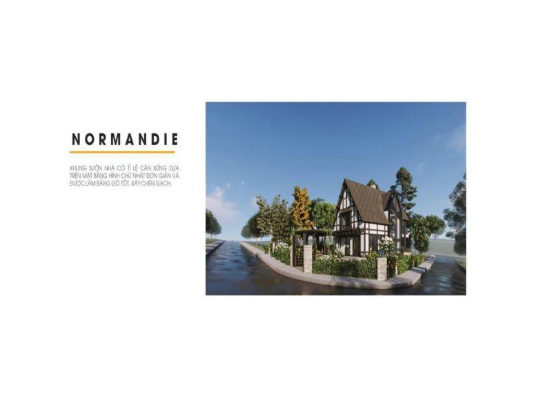 nhà kiểu normandie