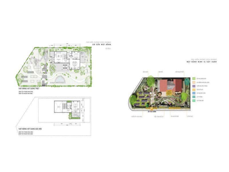 layout nhà basque