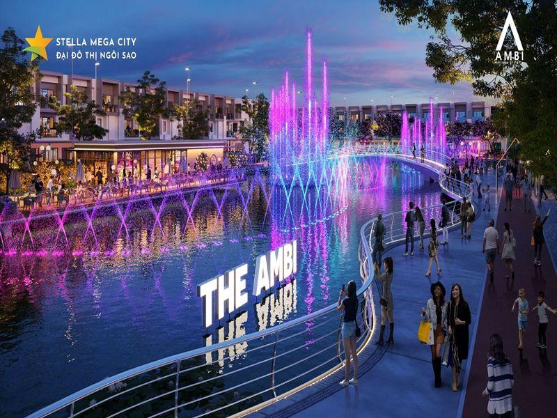 hồ ánh sáng mega city